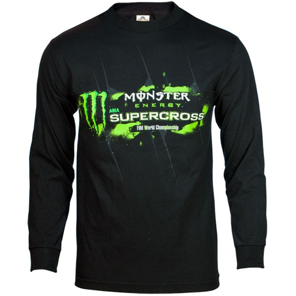monster energy supercross galaxy tee. Black Bedroom Furniture Sets. Home Design Ideas
